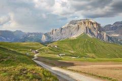 Dolomitessommarlandskap Arkivfoton