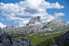 dolomiti Ιταλία Στοκ φωτογραφία με δικαίωμα ελεύθερης χρήσης