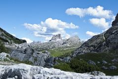 dolomiti Ιταλία Στοκ εικόνες με δικαίωμα ελεύθερης χρήσης