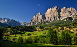Dolomiti Image stock