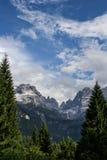 Dolomiti Стоковое Изображение RF