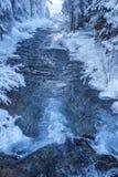 Dolomiti - alpint landskap Arkivfoto