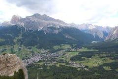 The Dolomiti Alps. The Dolomiti Apls in Italy stock image