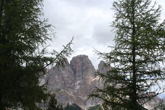 The Dolomiti Alps. The Dolomiti Apls in Italy Royalty Free Stock Image