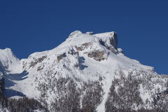 Dolomiti Alps Italy. Some views of Dolomiti Alps Italy during winter time Stock Photography
