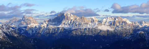 Dolomiti Alps Italy. Some views of Dolomiti Alps Italy during winter time Royalty Free Stock Images