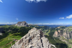 Dolomiti - Alta Val Gardena Immagini Stock