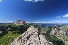 Dolomiti - alta Val Gardena Stock Images