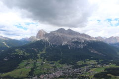 The Dolomiti Apls. In Italy Stock Photography