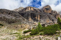 Dolomiti - Cavallo mount Royalty Free Stock Photo
