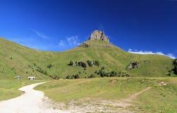 Dolomiti - Ciampac, Canazei Stock Photography