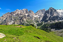 Dolomiti - Contrin valley Royalty Free Stock Photo