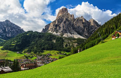 Dolomiti - Corvara in Badia Royalty Free Stock Image