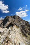 Dolomiti - Costabella ridge Royalty Free Stock Images