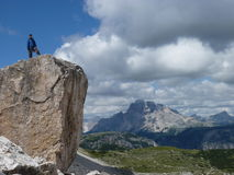 Dolomiti de las montañas fotos de archivo