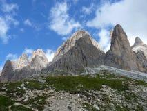 Dolomiti de las montañas foto de archivo libre de regalías