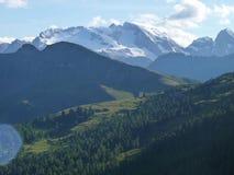 Dolomiti de las montañas imagenes de archivo