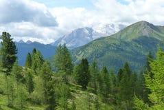Dolomiti de las montañas fotografía de archivo libre de regalías