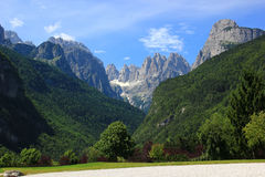 Dolomiti del Brenta Fotografie Stock