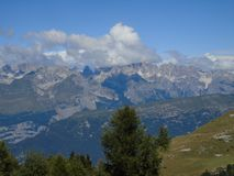 Dolomiti del Brenta en été Photos libres de droits