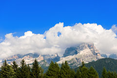 Dolomiti di Brenta -特伦托自治省意大利 图库摄影