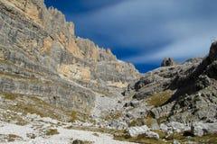 Dolomiti Di Brenta góry dolina Zdjęcia Royalty Free