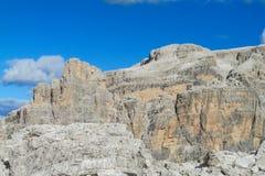 Dolomiti Di Brenta halne skaliste ściany Obrazy Royalty Free