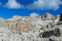 Dolomiti Di Brenta halni skaliści szczyty Obrazy Royalty Free