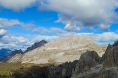 Dolomiti Di Brenta halni skaliści szczyty Obraz Stock