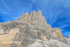 Dolomiti Di Brenta halni skaliści szczyty Obraz Royalty Free