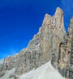 Dolomiti Di Brenta halny skalisty szczyt Zdjęcia Royalty Free