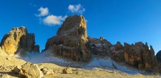 Dolomiti Di Brenta przełęcz Zdjęcie Royalty Free