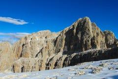 Dolomiti Di Brenta skalistej góry ściana Fotografia Stock