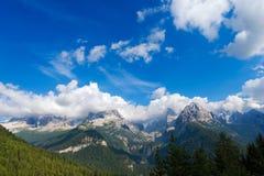 Dolomiti di Brenta - Trentino Italien Lizenzfreie Stockfotos