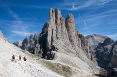 Dolomiti /Dolomite, Italy Royalty Free Stock Photo
