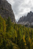Dolomiti Royalty Free Stock Photo