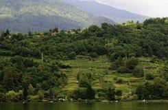 Dolomiti et Caldonazzo, Trentino Photographie stock libre de droits
