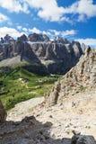 Dolomiti - gruppo Sella Royalty Free Stock Photo