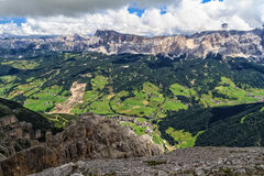 Dolomiti - high Badia Valley Royalty Free Stock Images