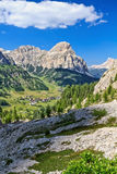 Dolomiti - high Badia Valley Stock Images