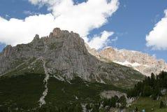 Dolomiti, Italia Fotografie Stock Libere da Diritti