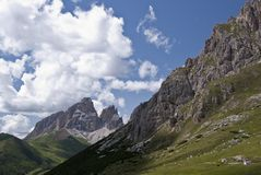 Dolomiti, Italia Fotografia Stock
