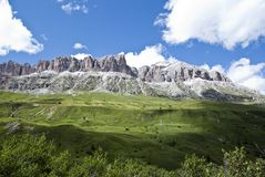 Dolomiti, Italia Immagine Stock Libera da Diritti