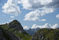 Dolomiti, Italia Immagine Stock