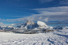 Panorama of Dolomities, Italy Royalty Free Stock Image