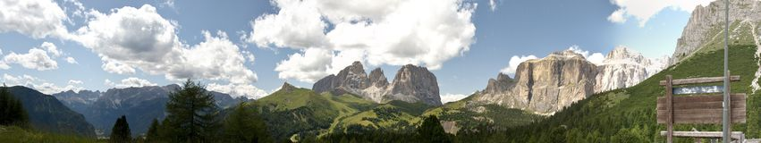Dolomiti, Italie Photos libres de droits