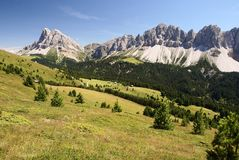 Dolomiti italy Imagens de Stock