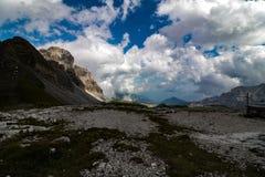 Mountain. Dolomiti in italy Royalty Free Stock Image