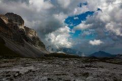 Mountain. Dolomiti in italy Royalty Free Stock Photo