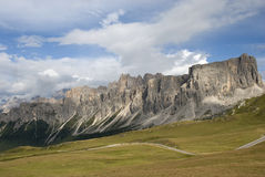 Dolomiti landscape Royalty Free Stock Photo